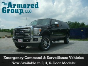 Emergency Command and Surveillance Vehicle - The Armored Group